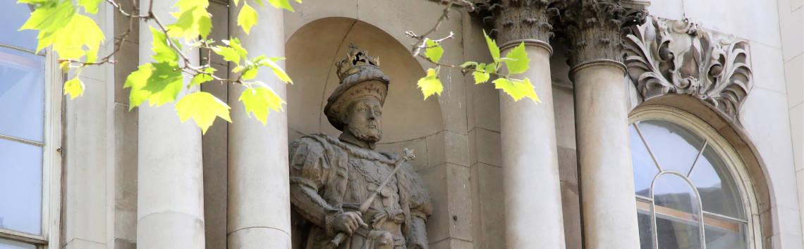 Henry VIII Gate at Barts Hospital