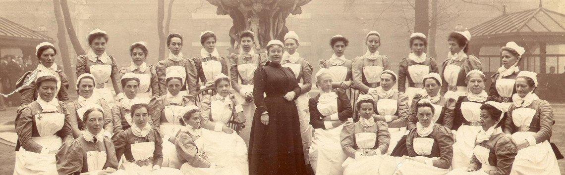 Isla Stewart & Nurses Barts Square